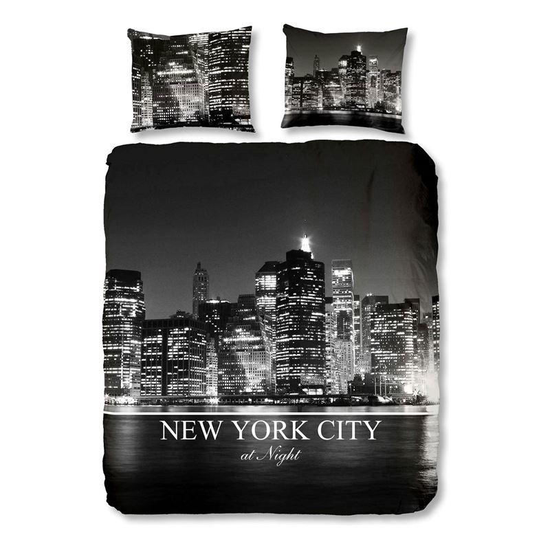 New York City dekbedovertrek   Katoen   Smulderstextiel nl